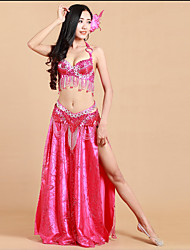 cheap -Shall We Belly Dance Outfits Women Performance Skirt Bra Waist Belt