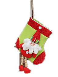 Holiday Decorations Gift Bags Toys Santa Suits Elk Snowman Boys' 1 Pieces