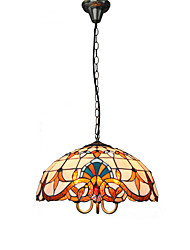 40cm Retro Tiffany Pendant Lights Glass Shade Living Room Bedroom Dining Room Kids Room light Fixture