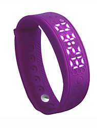 abordables -H55 Bracelet d'ActivitéEtanche Longue Veille Calories brulées Pédomètres Santé Sportif Suivi de distance Contrôle du Sommeil Affichage de