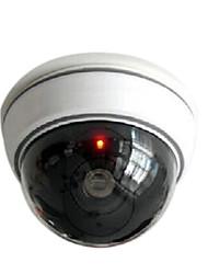 Недорогие -kingneo 1шт белый беспроводной Поддельные пустышка безопасности CCTV купола с мигающим красным светом СИД для дома или офиса торгового
