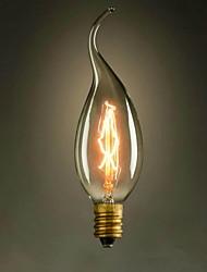 c35l ziehen Sie das Ende der e14 gelb 220v-240v 40W kleine Glühbirne Edison Schraube Licht