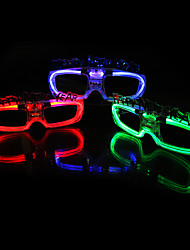 cheap -LED Lighting / Holiday Props / Holiday Supplies / Holiday Decorations / LED Stage Lights / Halloween Props / Halloween Accessories /flash glasses