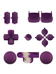 preiswerte -Ersatz-Controller Fall Montagesatz für ps3 controller orange / lila / pink eingestellt