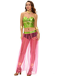 Cosplay Costumes Female Carnival Festival/Holiday Halloween Costumes Color Block
