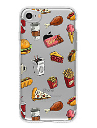 Dinner TPU Case For Iphone 7 7Plus 6S/6 6Plus/5S SE