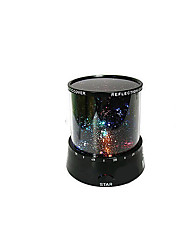 DIY Birthday Romantic Galaxy Starry Sky Projector Night Light for Celebrate Christmas Party