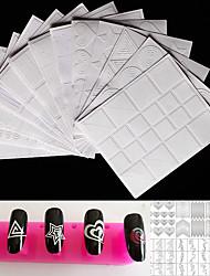baratos -12pcs Ferramenta de Nail Art Adorável arte de unha Manicure e pedicure Desenho / Ferramentas de desenho