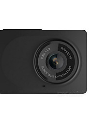 cheap -Xiaomi Xiaomi Power Edition Black Stealth 1080p 130 Degree Car DVR 2.7 inch Dash Cam Android APP IOS APP Emergency Lock Built-in speaker
