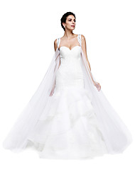 cheap -Tulle Wedding Party Evening Women's Wrap Capes
