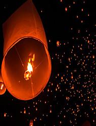 clássico romântico em forma de coração lanterna de luz kongmin lâmpada do céu