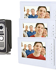 cheap -800 x 480 92° CMOS Doorbell System Wired Photographed Multifamily video doorbell