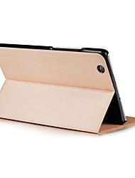 preiswerte -zweifache Muster solide Farbe PU-Leder-Etui mit Schlaf für 8,4-Zoll-huawei Medien Pad m3
