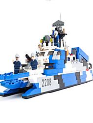 Bonecos & Pelúcias Blocos de Construir para presente Blocos de Construir Barco de Guerra Porta-Aviões 5 a 7 Anos 8 a 13 Anos 14 Anos ou