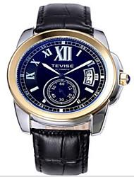 levne -Tevise Pánské Dámské Pro páry Křemenný Automatické natahování mechanické hodinky Hodinky s lebkou Sportovní hodinky Kalendář Voděodolné