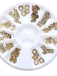 1Pcs Chiodo decorazione di arte strass Perle makeup Cosmetic Nail Art Design