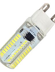 preiswerte -G9 G8 LED Mais-Birnen T 80 Leds SMD 3014 Dekorativ Abblendbar Warmes Weiß Kühles Weiß 380lm 2800-6000K 110-120 AC 220-240V