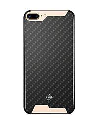 abordables -Para iPhone 8 iPhone 8 Plus iPhone 7 iPhone 6 Funda iPhone 5 Carcasa Funda Antigolpes Cubierta Trasera Funda Diseño Geométrico Dura Fibra