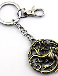 cheap -Cosplay Accessories Inspired by Game of Thrones Cosplay Anime Cosplay Accessories Keychain Alloy