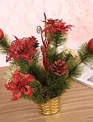 Недорогие -1 шт Рождественский венок хвою рождественские украшения для домашнего диаметра партия 25см NAVIDAD новые поставки год