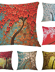 cheap -Set of 6 The Three-dimensional Painting Style Series Of 3D Pattern Painting Style 6 Piece Fillow Cover Flannel Pillow