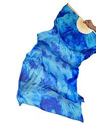 economico -Danza del ventre Forniture da palcoscenico Per donna Da esibizione Di seta Con ruche 1 pezzo Stecca