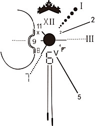 настенные часы наклейки наклейки для стен, поделки Хронометрист декоративная ПВХ наклейки
