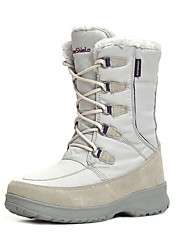 TnTn Women's High-top Snow sports Mid-Calf Boots Winter Anti-Slip / Waterproof / Breathable Shoes White / Light Gray / Brown