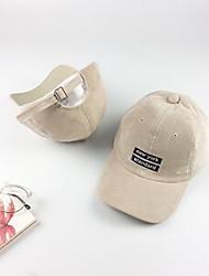 Недорогие -Кепка Приспущенные Сохраняет тепло Удобный для Бейсбол Мода Хлопок