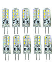 10 Pcs 유선 Others G4 24 led Sme3014 DC12 v 350 lm Warm White Cold White Double Pin Waterproof Lamp Other