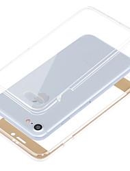 economico -Per iPhone 8 iPhone 8 Plus iPhone 7 iPhone 7 Plus iPhone 6 Custodie cover Resistente agli urti Integrale Custodia Tinta unica Morbido TPU