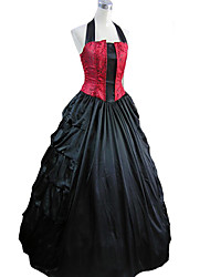 cheap -Medieval Victorian Costume Women's Dress Masquerade Party Costume Vintage Cosplay Charmeuse Sleeveless Long Length