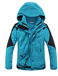 Women's Hiking Jacket Thermal / Warm Breathable Comfortable Protective Tracksuit Softshell Jacket Top for Skiing Camping / Hiking Leisure