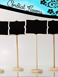 Недорогие -Дерево Таблички с номерами столов Подставка Подарочный пакет 1 pcs