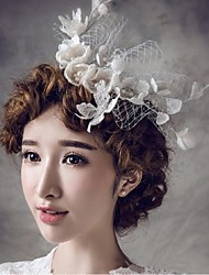 Women's Lace / Net Headpiece-Wedding / Special Occasion / Casual / OutdoorHeadbands / Hair Combs / Flowers / Hair Pin / Hair Stick /