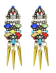Drop Earrings Alloy Fashion Rainbow Jewelry Party 1 pair