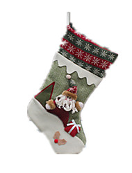 Holiday Decorations Holiday Supplies Santa Suits / Elk / Snowman Cloth / Textile For Boys / For Girls 8 to 13 Years