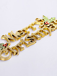 cheap -25cm Christmas Tree Decoration Ornaments Holden Merry Christmas Alphabet Cards Free Shipping