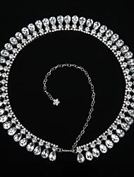 economico -Danza del ventre Cintura Per donna Da esibizione Plastica Perline 1 pezzo Cintura