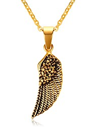 cheap -Men's Pendant Necklaces Jewelry Christmas Tree Christmas/Birthday/Party/Daily/Casual Fashion Gold Plated Golden 1pc Gift