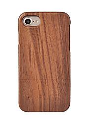 CORNMI For iPhone 7 Plus 7 6 6S 6 Plus 6S Plus 5 5S SE Case Rose Wood Case Walnut Wooden Shell Hard Back Cover .