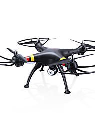 baratos -Drone SYMA X8W 4CH 6 Eixos Com 0.3MP HD Camera FPV Modo Espelho Inteligente Vôo Invertido 360° Acesso à Gravação em Tempo Real Com Câmera