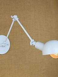 белый двойной праздник настенный светильник из кованого железа длинная рука