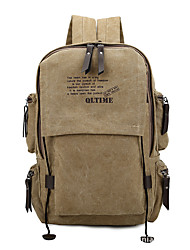 20 L Daypack Backpack Traveling School Multifunctional Canvas