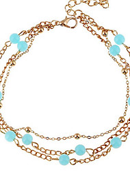 cheap -Women's Anklet/Bracelet Alloy Fashion European Jewelry For Wedding Daily
