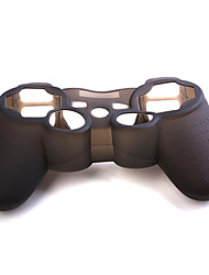 cheap -Protective Silicone Case (Black) for PS3 Controller