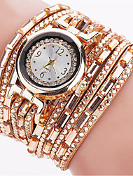 Mulheres Relógio de Moda Relógio de Pulso Bracele Relógio Quartzo Luminoso Punk Colorido PU BandaVintage Brilhante Doce Boêmio Pendente