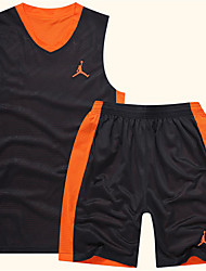 cheap Basketball-Men's Sleeveless Leisure Sports / Badminton / Basketball Clothing Suits Quick Dry / Breathable