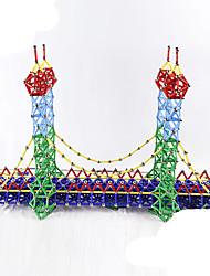 Недорогие -103 pcs Магнитные игрушки Магнитный конструктор Магнитные палочки Магнитные плитки Конструкторы Металлические пластик Оригинальные Детские / Взрослые Мальчики Девочки Игрушки Подарок