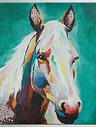 Недорогие -ручная роспись абстрактная / живопись живопись маслом, классическая картина холста маслом на холсте